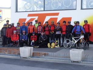 """Immerhin 23 Biker fanden sich am nächsten Tag zur """"Heavy Trails""""-Ausfahrt"""