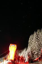 Sternenhimmel am nächsten Tag - Start des ersten Rennens