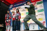 Die drei Gewinner der Bikeboard Awards 2003 hier präsentiert von MikeMike