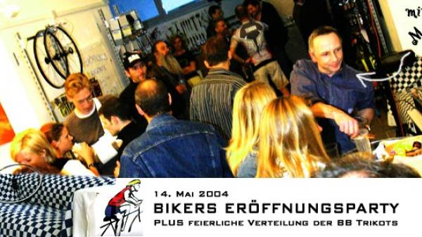 Bikers Eröffnungsfeier