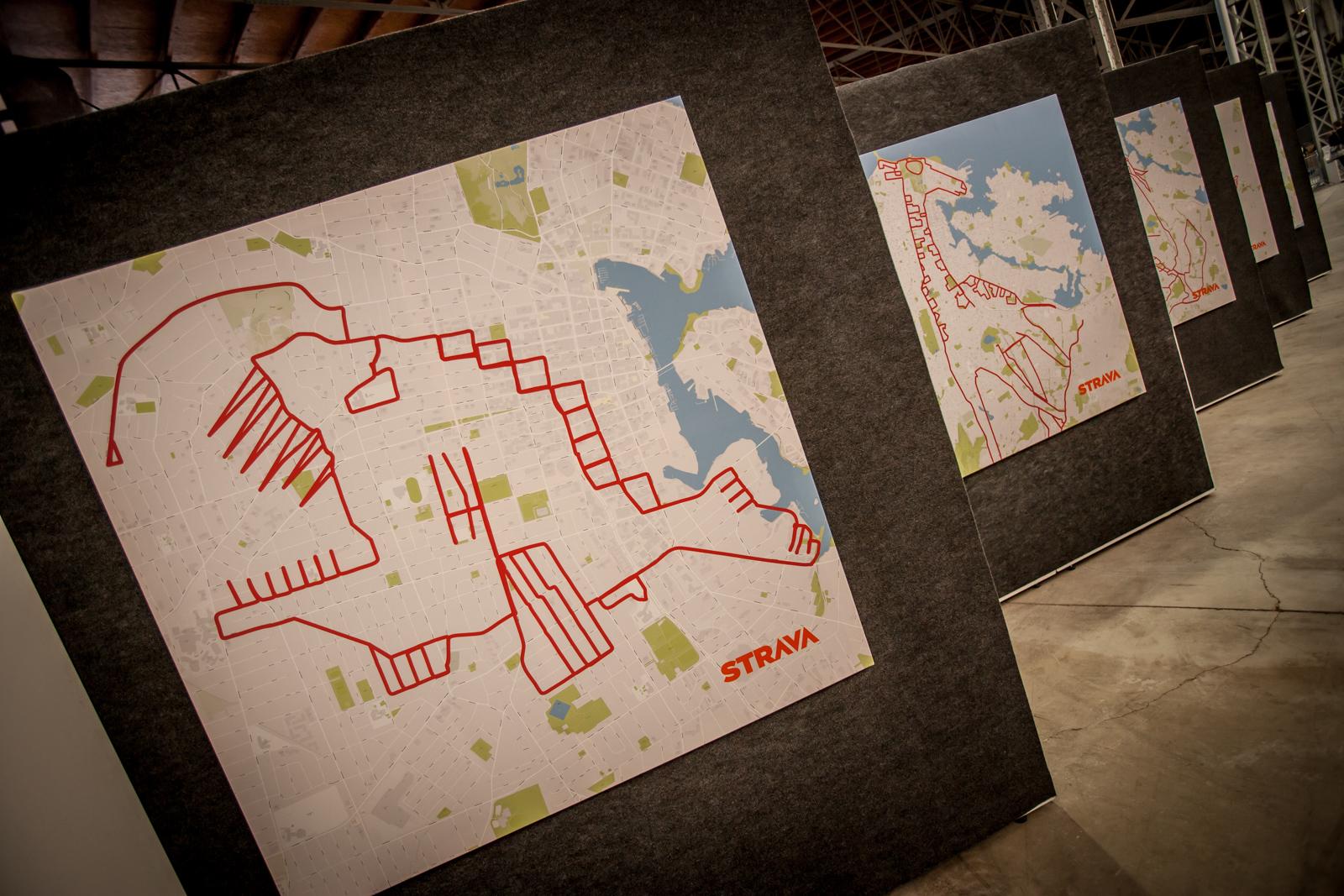 Strava Art: die Kunst, mit einem GPS-Tracker zu zeichnen ... Mit den Straßen der Welt als Leinwand erschaffen kreative Radfahrer ganz eigene Kunstwerke. Welche Bilder und Figuren bekommen wir aus WIen und Umgebung bald zu sehen?