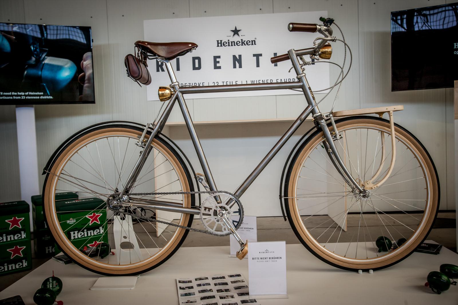 Ein echter Wiener: Heineken Ridentity, initiiert von Grafik-Designer Oliver Toman, fahrbar gemacht von Daniel Reinhartz.