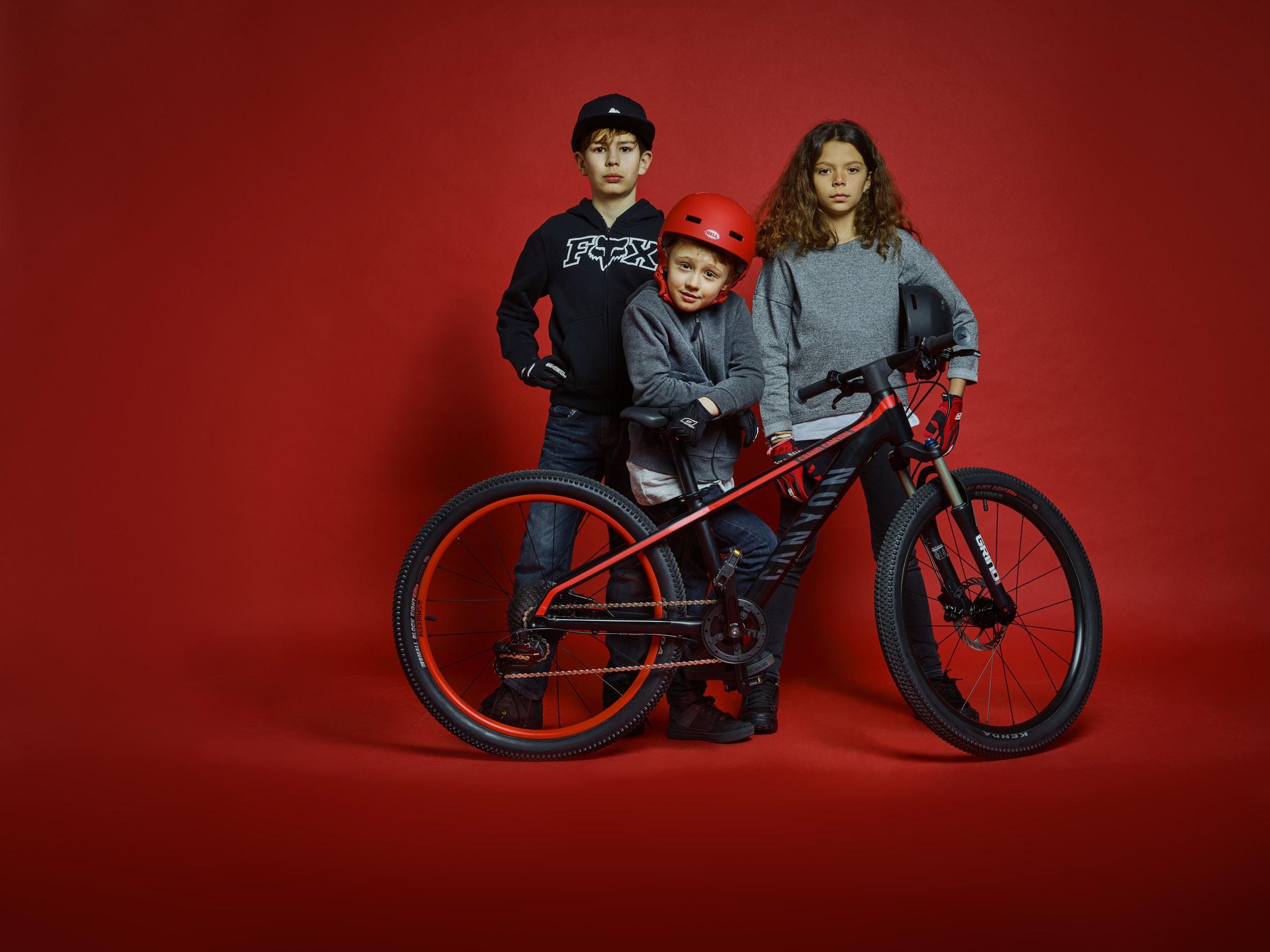 Canyon Offspring & Grand Canyon AL 24: Erste Kinderräder aus