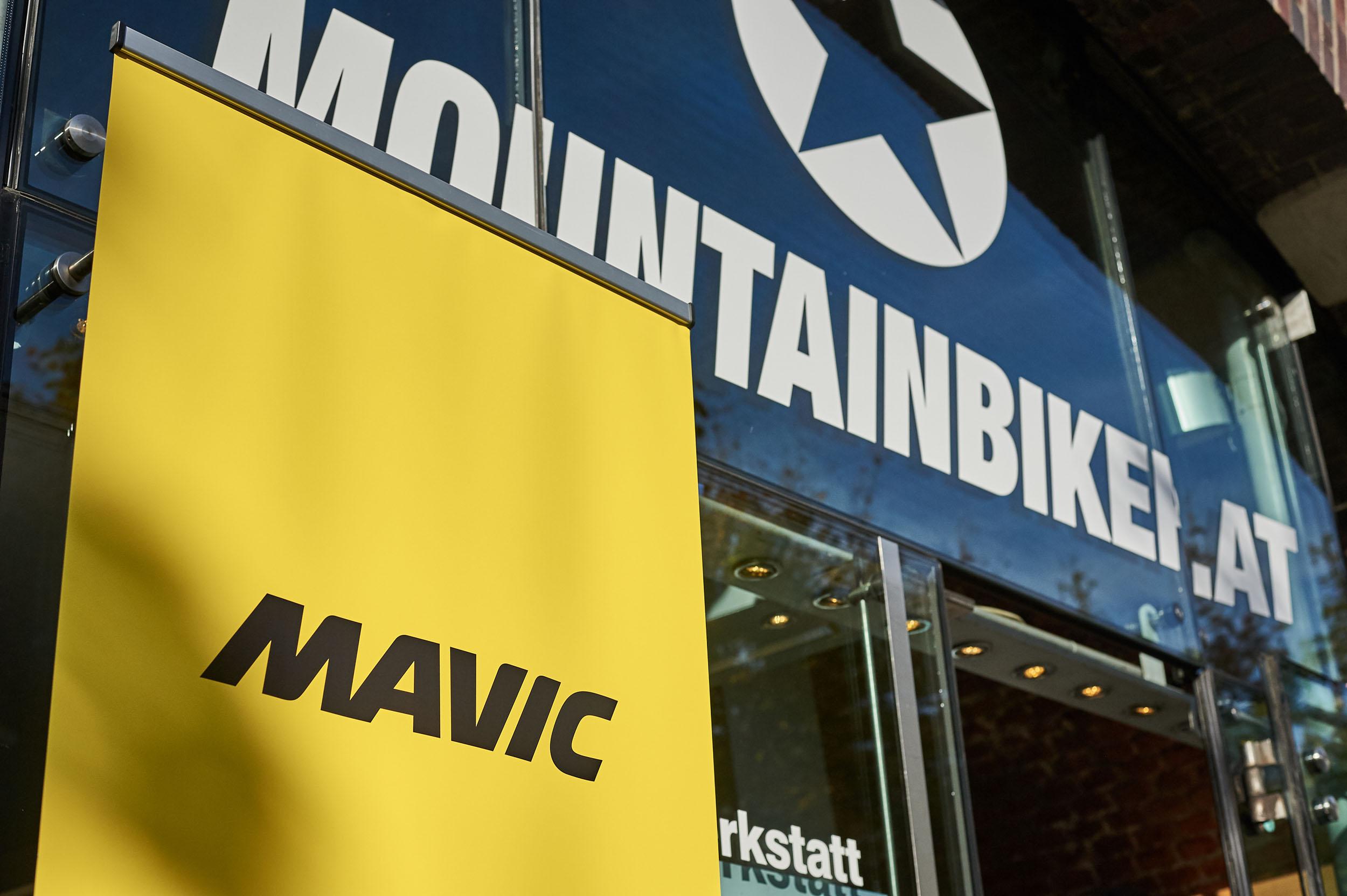 Mountainbiker-Flagshipstores in Wien - übrigens die einzige Comète-Verkaufsstelle in Österreich.