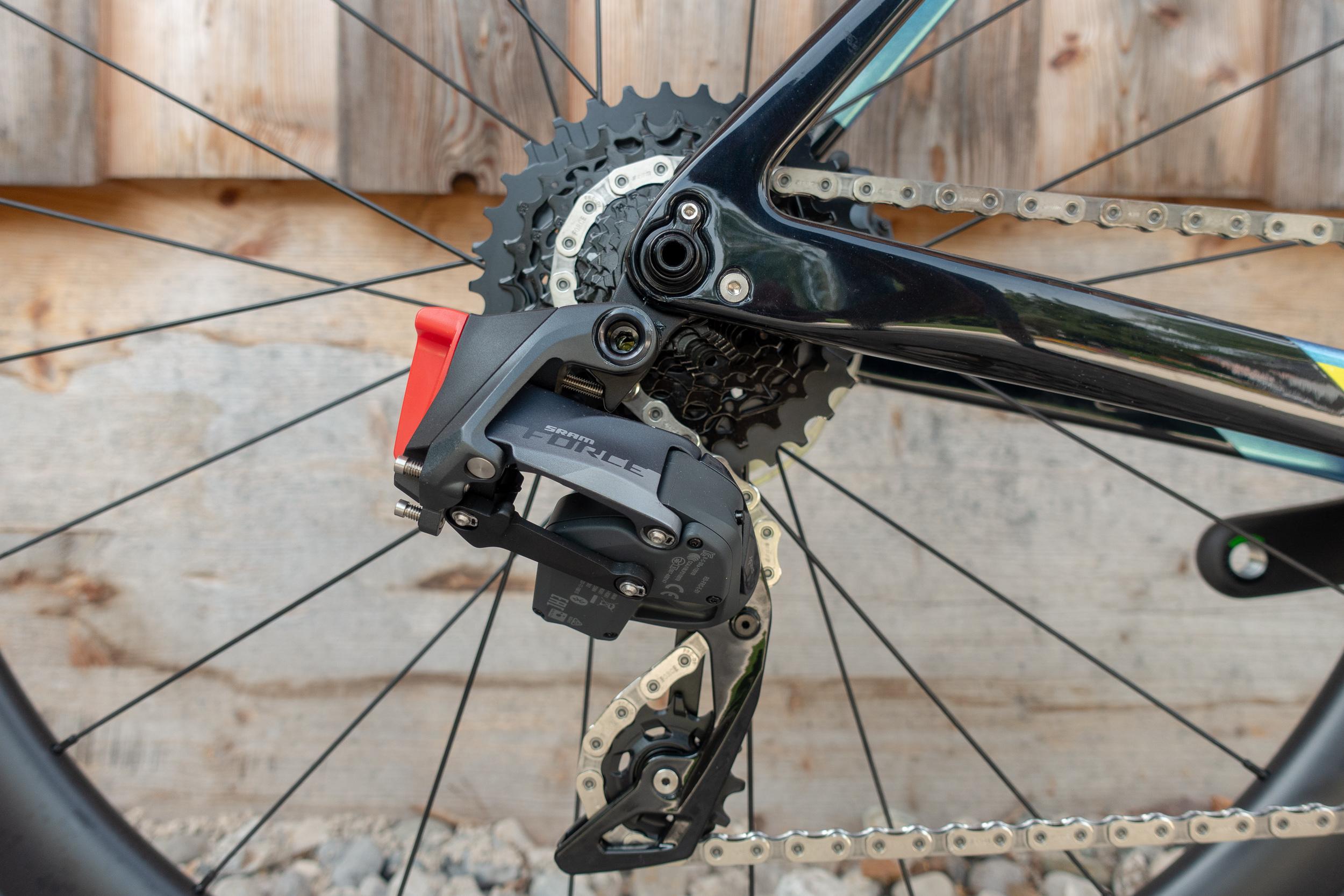 Sram Force eTap AXS 1-fach mit 10-33 Kassette hinten