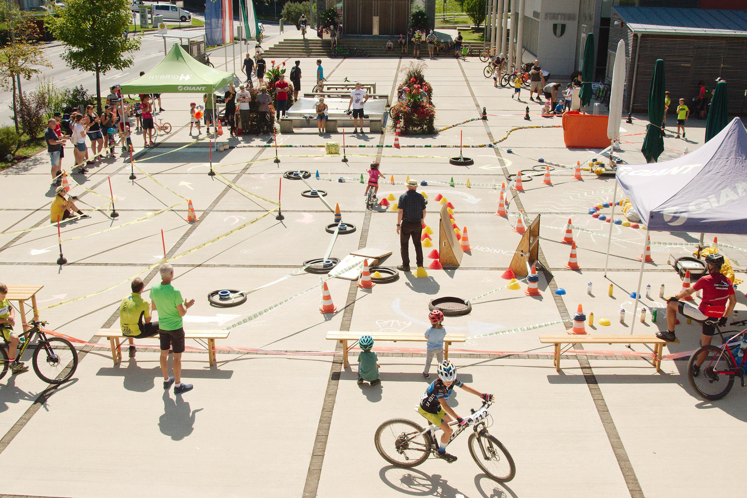 Traditionell großgeschrieben werden in Graz die Technik-Bewerbe für alle Altersklassen.