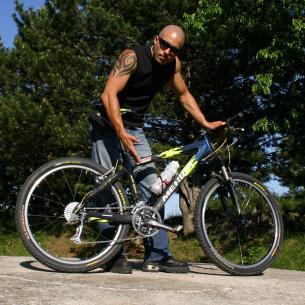 Man nehme ein Mountainbike