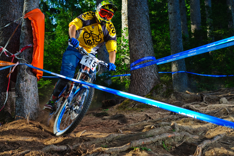 der Nordkette Downhill am 18./19.9. in Innsbruck.