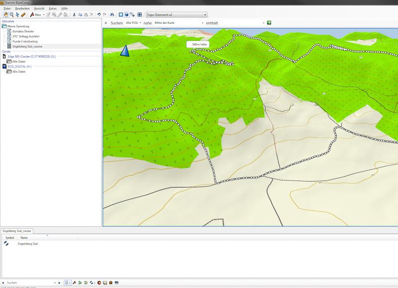 TOPO Österreich 2 3D-DarstellungHöhenschichtlinienHohe Qualität des Kartenmaterials