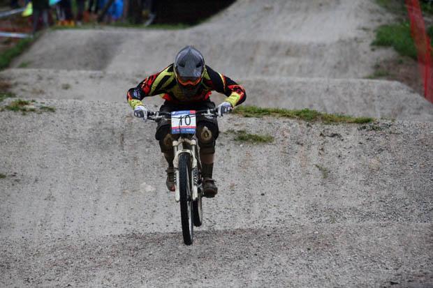 Helene Fruhwirth (Alpine Commencal) überrascht und landet auf Platz 6!