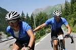 Team Orthomol Sport hält hin, der Berg ist ihr Element *grins*