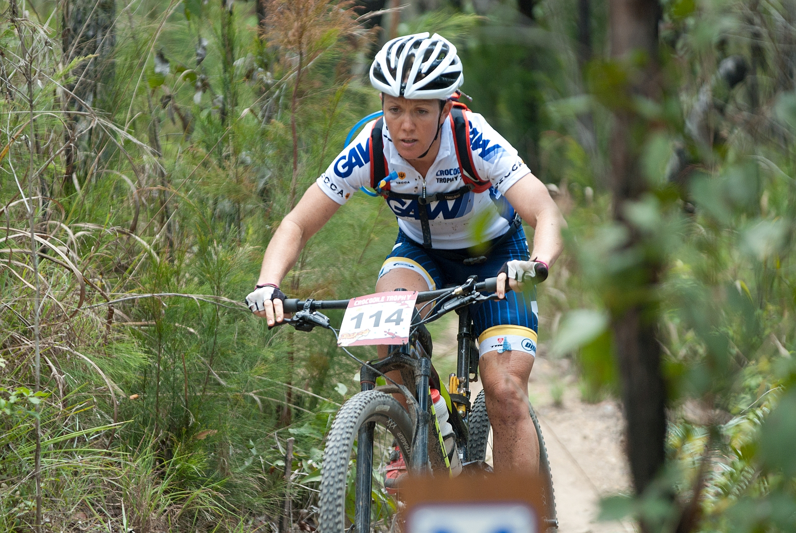 Mit drei Tagessiegen bisher souverän unterwegs: die Australierin Sarah White.