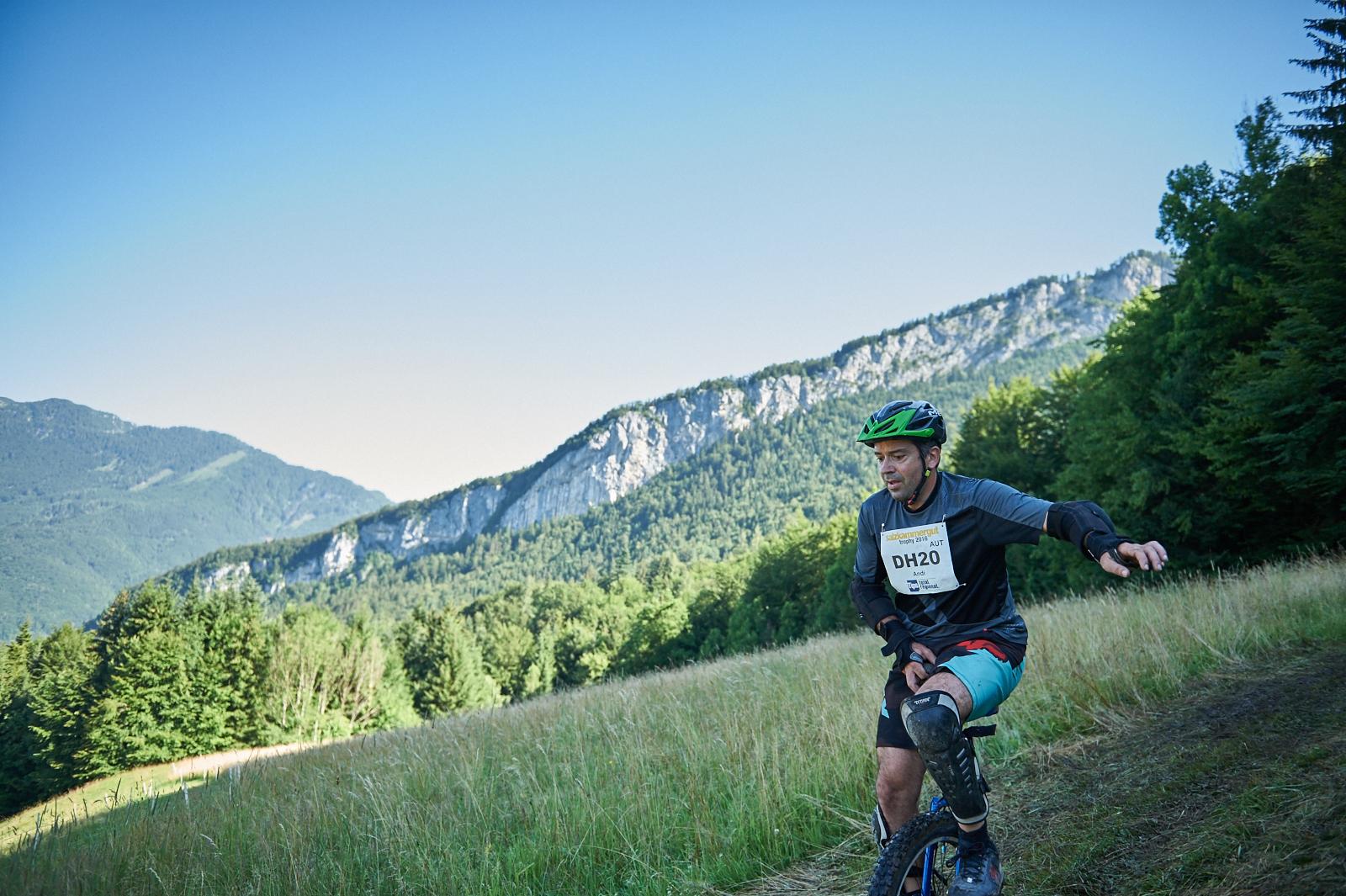 Bildbericht Trophy Einrad-Downhill 2016