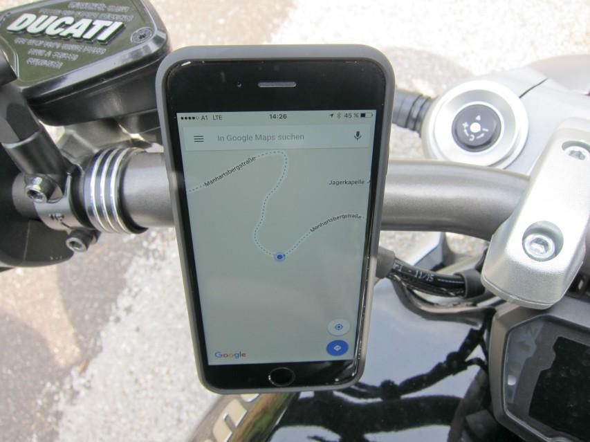Googlemaps mit GPS-Routing