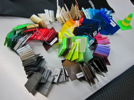 Folgende Farbvarianten sind beim Microtex-Material möglich