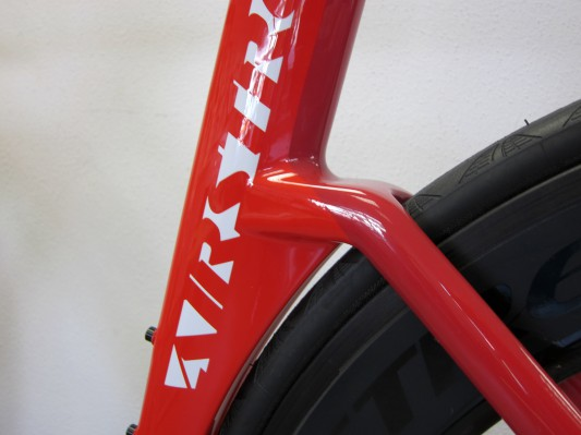 Aeoroprofile: Ab 40 km/h bis zu 7% Aero-Vorteil im Vergleich zu einem herkömmlichen Straßenrad.
