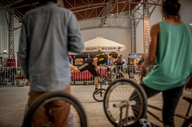 Die österreichische Szene und internationale Gäste treffen sich dabei, um gemeinsam ihre Kreativität beim Rollen und Spinnen auf zwei Rädern auszuleben,