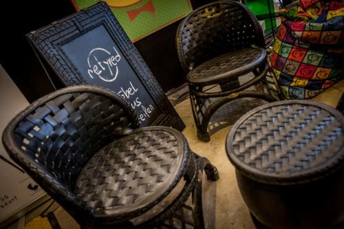 Cool:Retyred baut aus Altreifen Möbel mit verdächtig guter Kurvenlage und Profil.
