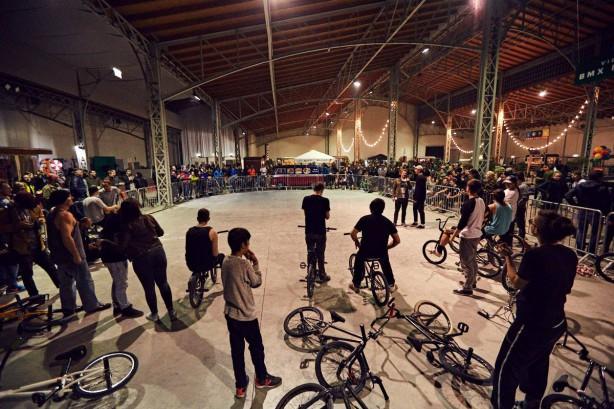 """""""langen Nacht des Fahrrades"""". Außerdem am Programm: der BMX Flatland Best Trick Contest."""