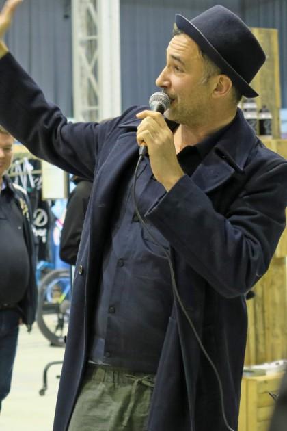 Initiator Fares-Gabriel Hadid eröffnete die WFS