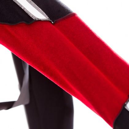 Thermoflex Core Due-Material vorne und an den Knien