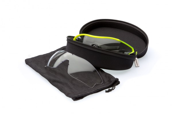 Scott Leap LS Brille: inkl. Ersatzglas,  Thermogeformtem Sportetui mit Mikrofaserbeutel um € 119,95
