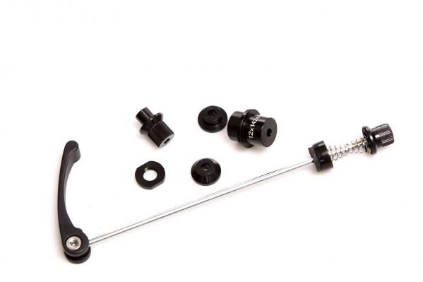 Für viele unserer Disc-Testräder (Road und MTB) brauchten wir den 142x12 Adapter, welcher optional zu erwerben war.