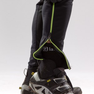 durchgängiger, zweiteiliger Zipp für Schuhe / Protektoren