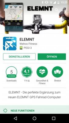 Companion App für IOS oder Android: Anfangs noch etwas buggy, mittlerweile super-stabil.