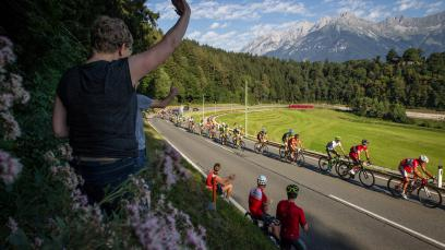Rennradregion Innsbruck mit Vorschau Rad-WM 2018
