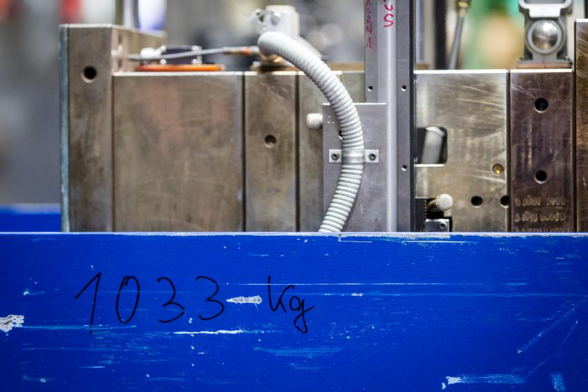 Nach Inbetriebnahme eines Werkzeuges braucht es nur zwei bis vier Zyklen, bis die spezifizierte Qualität erreicht wird.