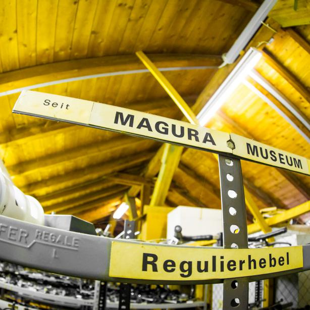 """Im """"Magura Museum"""" ruhen stellvertretende Produkte ab 1923."""