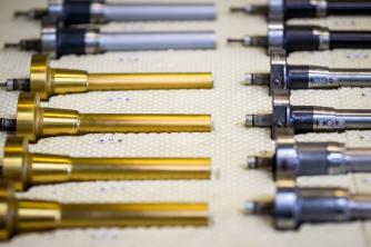 10 Prozent der 60 bis 80 Neuwerkzeuge pro Jahr werden selbst produziert.