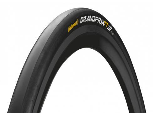 GP TT Ltd. 23 mm: Etwas härtere BlackChili-Mischung, schmälere Pannenschutzeinlage, leichter, niedrigerer Rollwiderstand, bei Nässe weniger Grip, schlechtere Aerodynamik wegen des fehlenden Profils