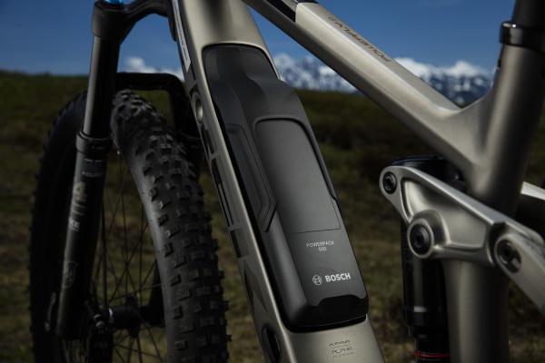 Der Rahmen, wie auch die semi-Integration des Bosch PowerPack 500-Akkus, sind mit den LT-Modellen ident.