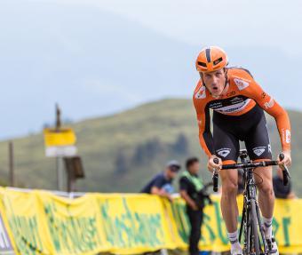 Einer von vielen Stars: Tour-Etappensieger Pieter Weening
