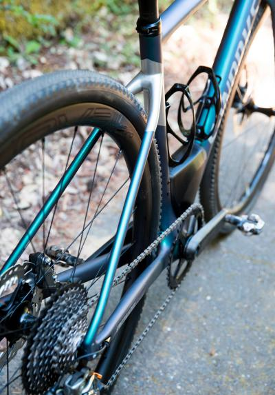 Platz für Reifen bis 42 mm Breite