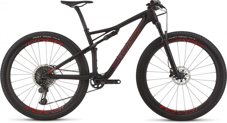 Women's S-Works Epic mit Sram XX1 Eagle 12-s um € 8.999,-