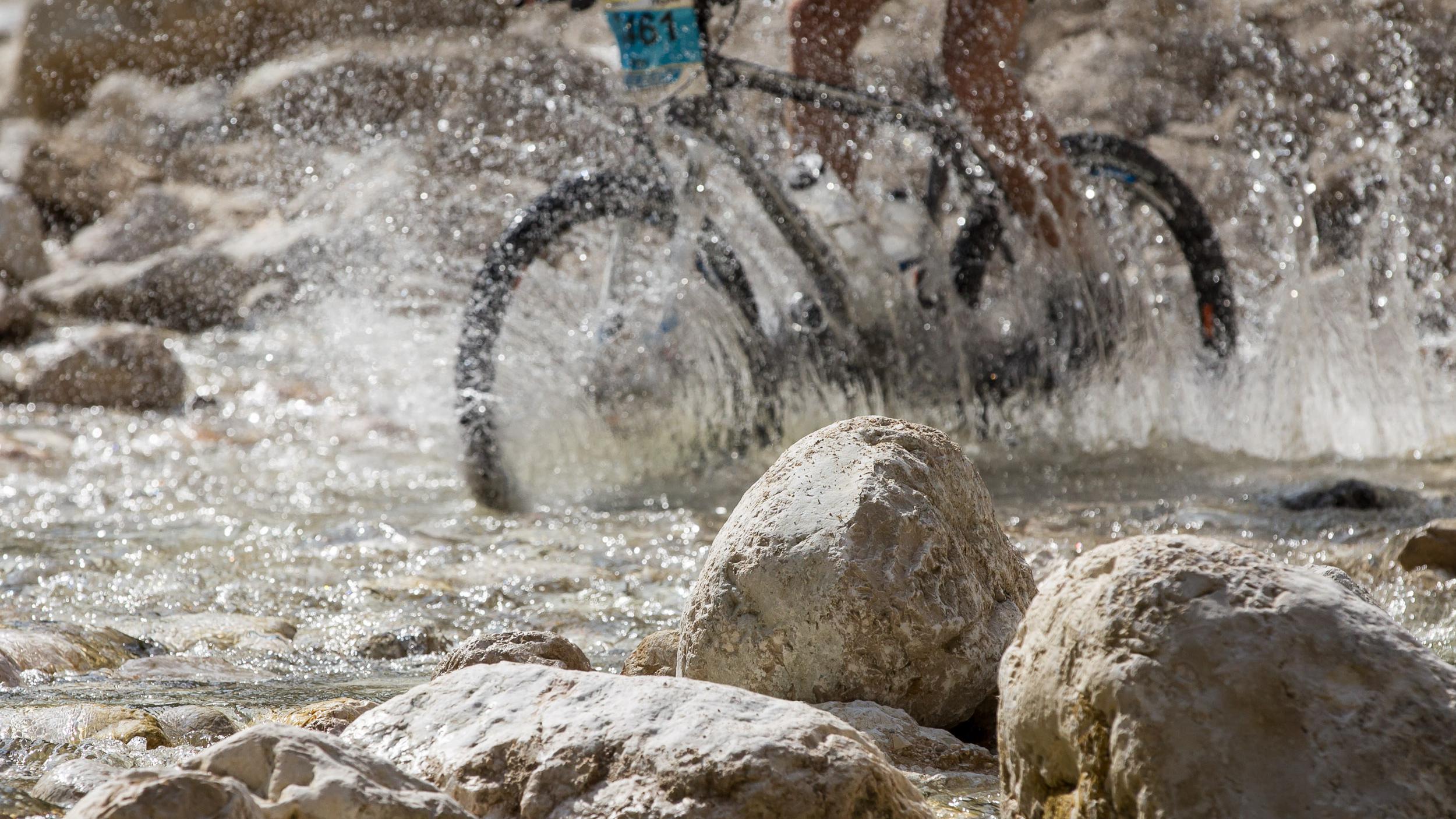 Wasser von unten (Foto: Gosauzwang 2013)