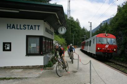 Foto: Haltestelle Hallstatt 2008