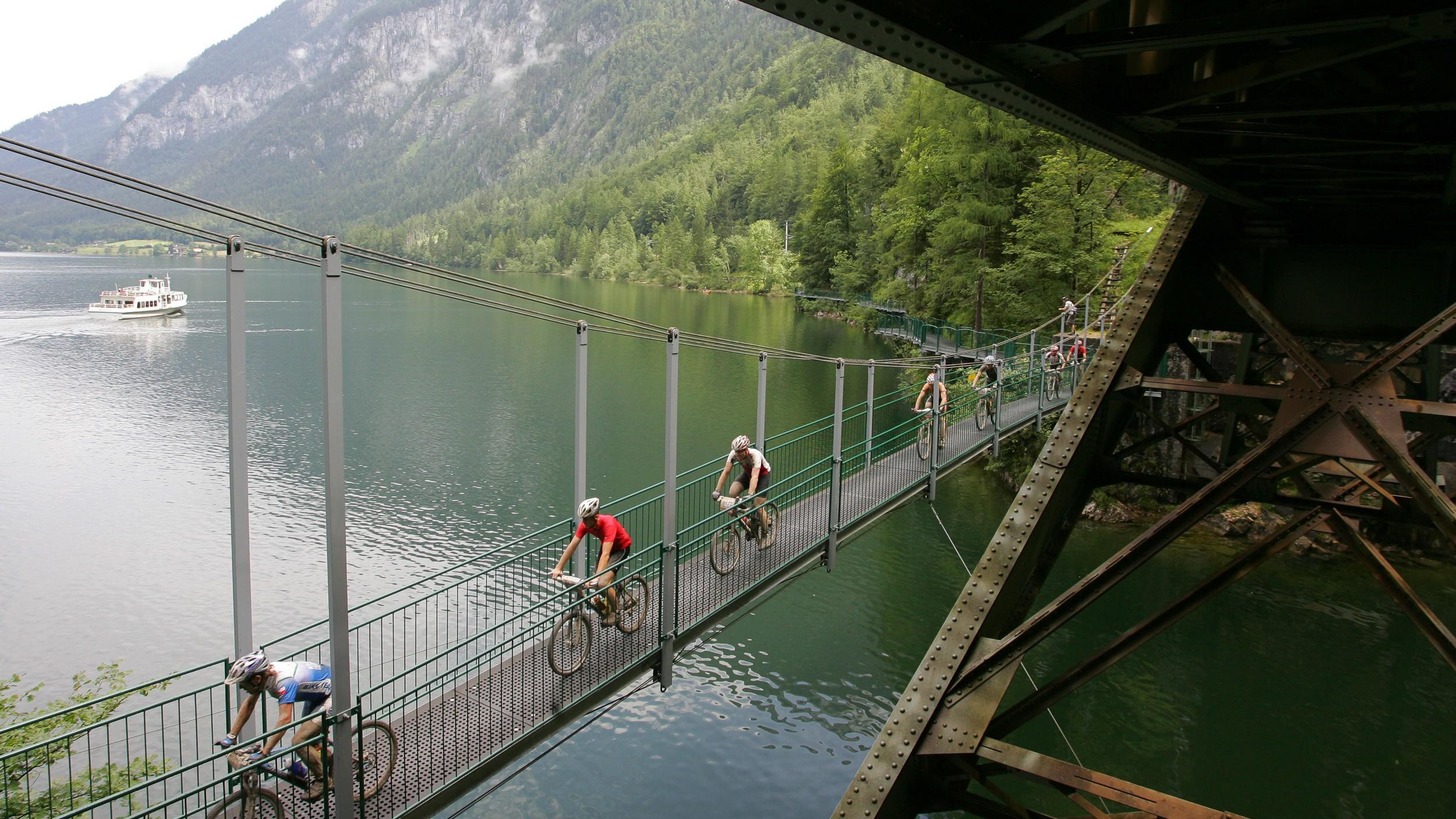 als ruhiger See (Foto: Hallstätter See 2008)