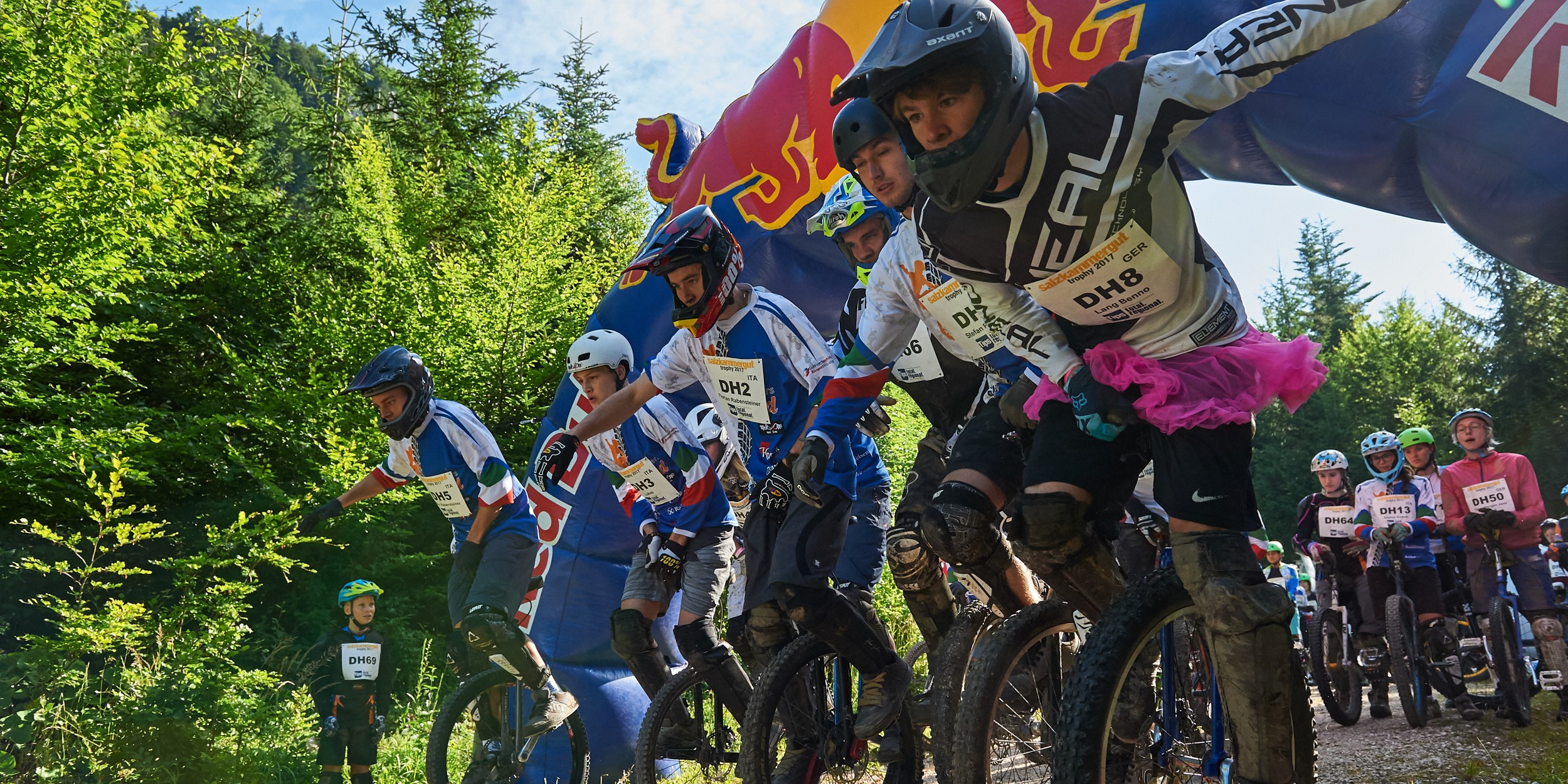 Salzkammergut Trophy Einrad Downhill 2017
