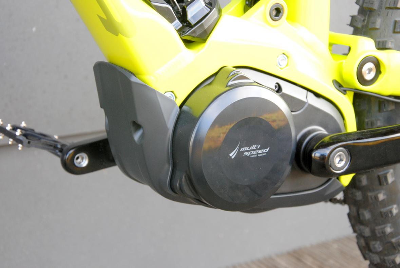 Der 2-Gang-Motor bietet eine enorme Bandbreite. Für den MT- Einsatz würden wir aber eher zum deutlich leichteren X0 Antrieb greifen.