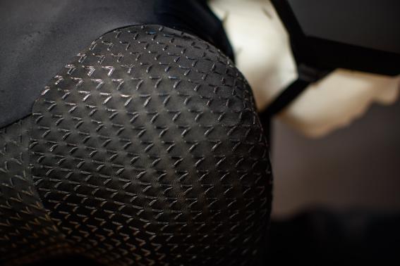 mit 3D-gedruckten Silikon-Applikationen, um den Luftwiderstand zu verringern
