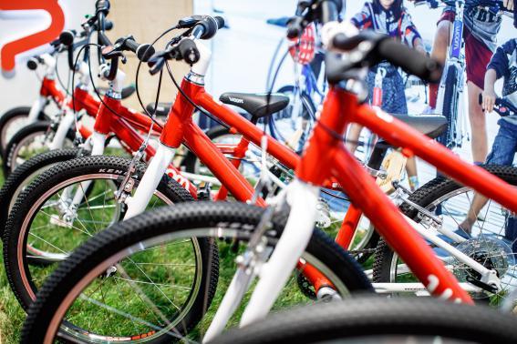 Die Bikes Woom 1 bis 6 werden laufend