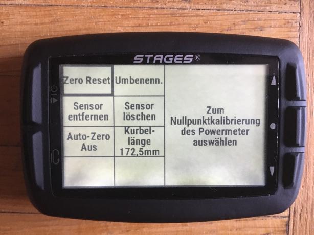 Die Sensoren lassen sich auch direkt am Dash (alternativ auch über Stages Link) konfigurieren. Auch ob der Sensor nur in diesem Profil, oder in allen Profilen integriert sein soll, entscheidet der Nutzer.