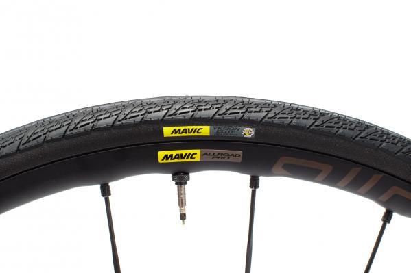 Das Top-Allroad Laufrad mit dem schmälsten Reifen von Mavic
