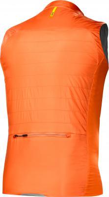 Allroad Insulated Vest Asphalt/Puff Bill: Primaloft Sport kombiniert gute Isolierung mit minimalem Gewicht - besonders in den Zonen, die dem Fahrtwind und der Kälte am stärksten ausgesetzt sind. UVP € 160,-
