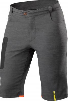 Allroad Fitted Baggy Short Asphalt: Lässige Shorts aus Trail Tech Material, mit einstellbarer Beininnenlänge - passt perfekt über die Lieblings-Trägerhose oder Innenhose mit Einsatz.