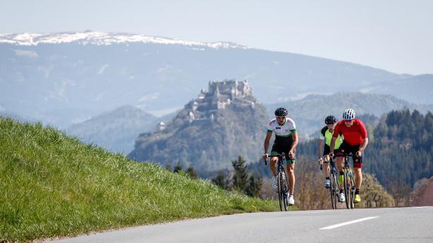 Atlantis der Alpen: mit dem Rennrad rum um den Klopeiner See